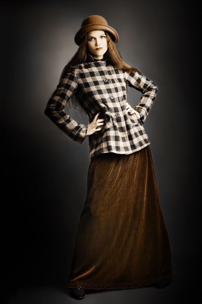 Rien de tel qu'une jupe longue pour un style bohème