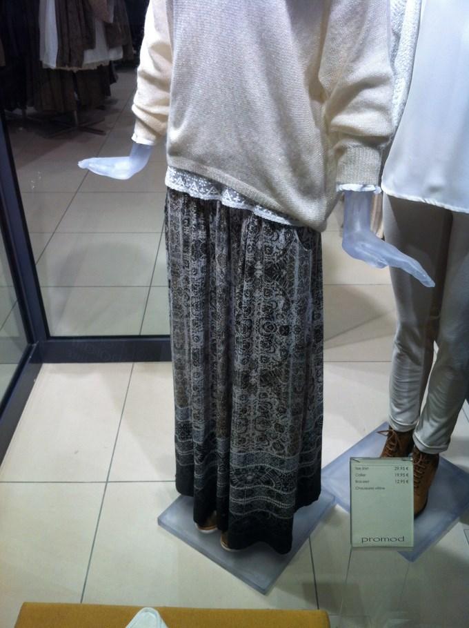 Ma prochaine jupe longue.