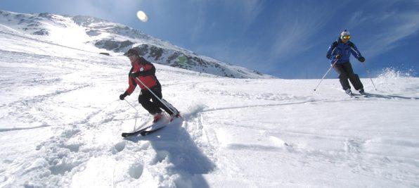Faire du ski pyrénées à Saint-Lary