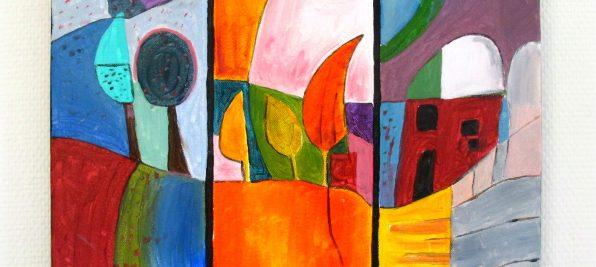 Tableau abstrait : pour une décoration murale personnelle