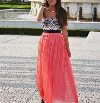 belle jupe longue