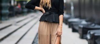 Comment porter jupe longue
