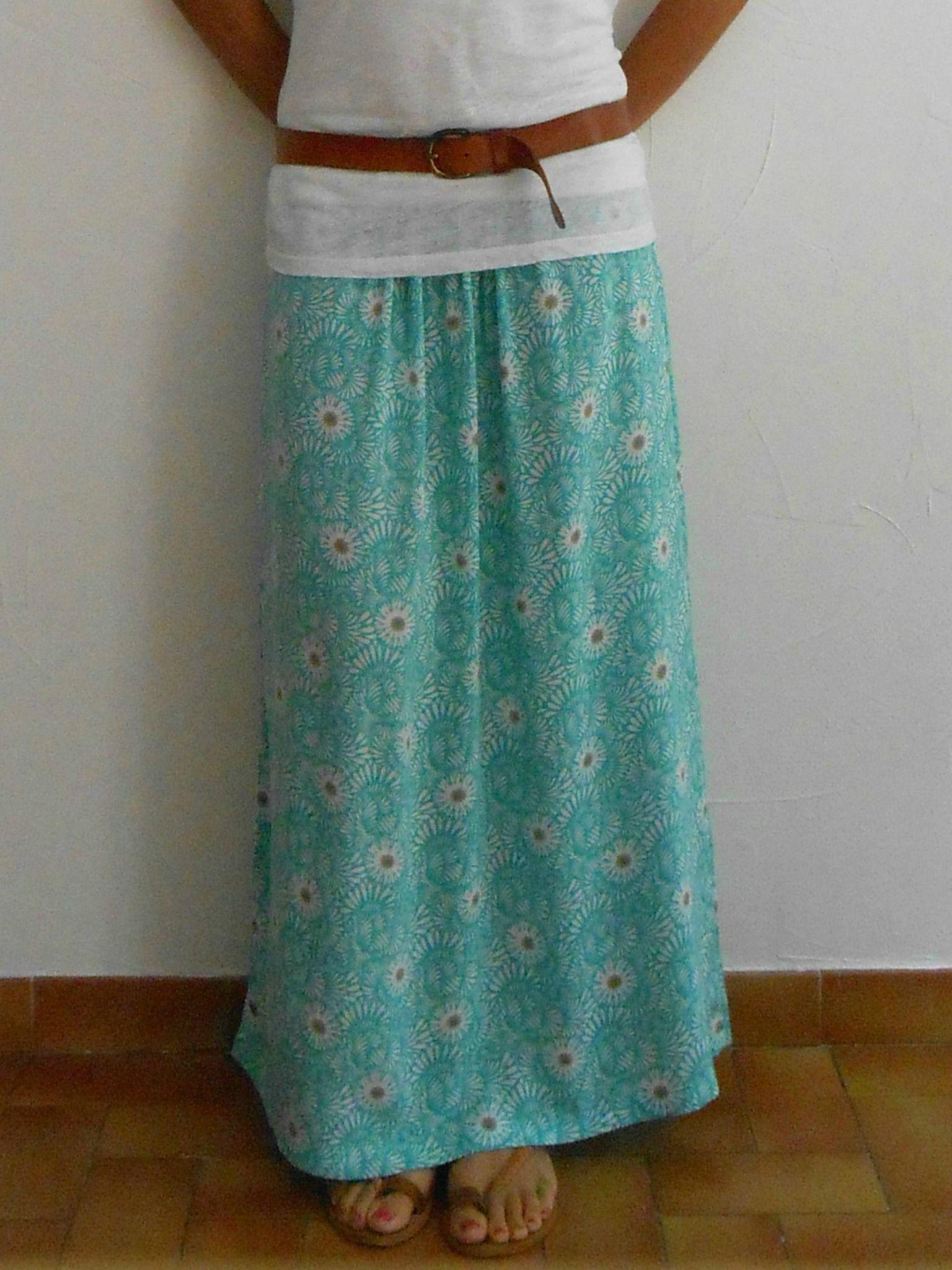 faire une jupe longue