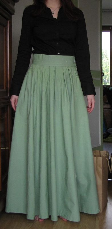 jupe ample longue