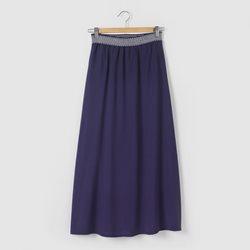 jupe longue bleu