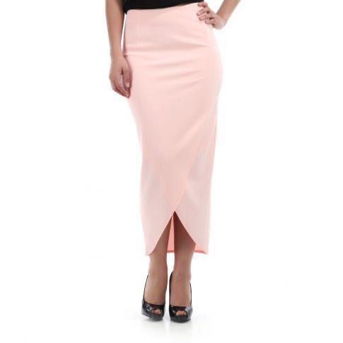 jupe longue coupe droite