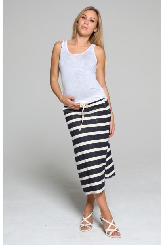 jupe longue de grossesse
