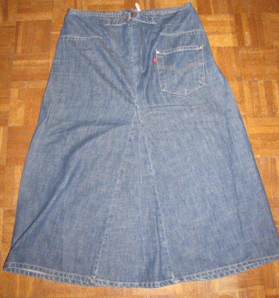 jupe longue en jean levis