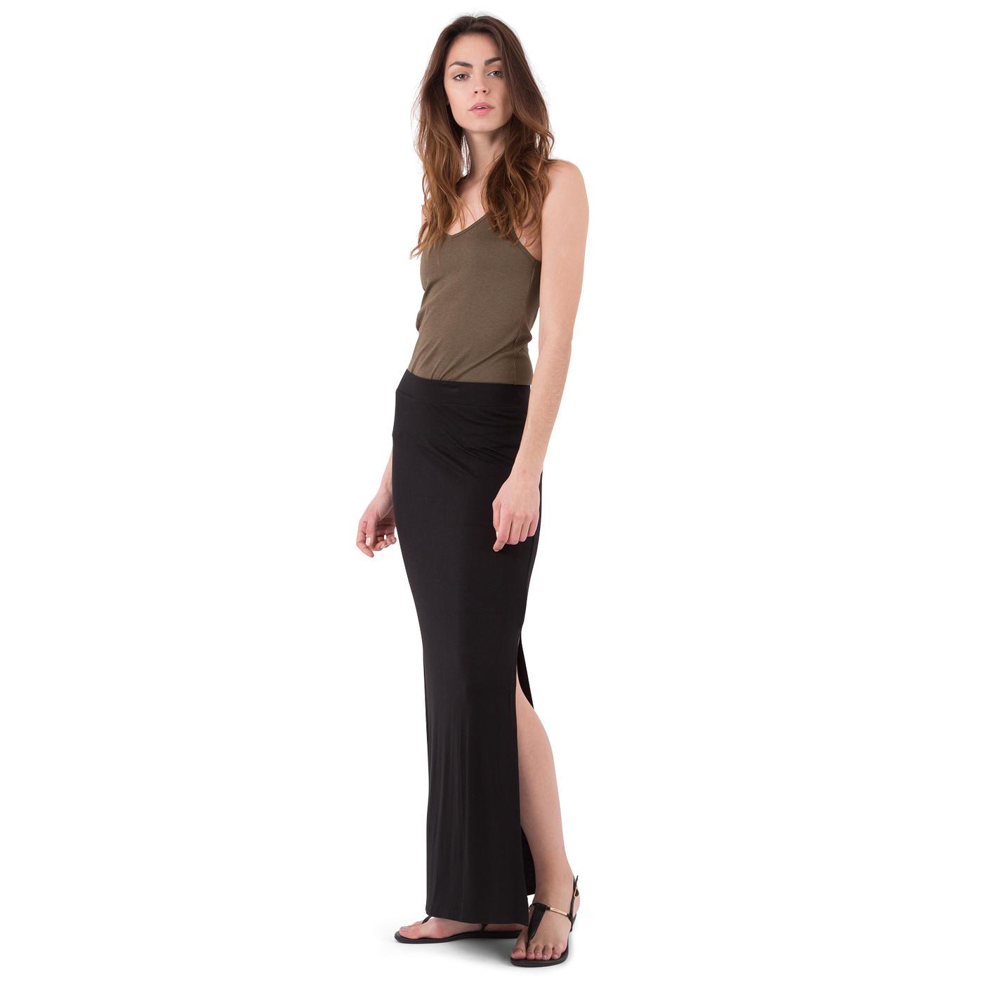 jupe longue fendu