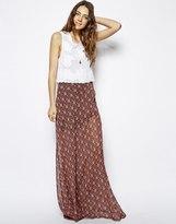 jupe longue imprimé