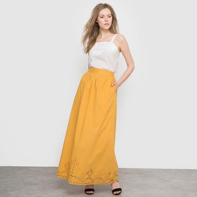 jupe longue imprimée