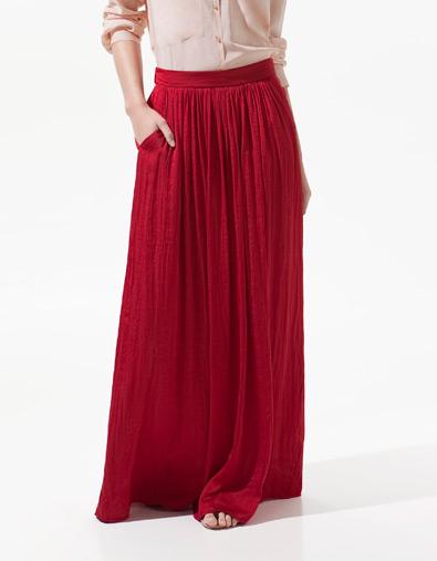 jupe longue maxi