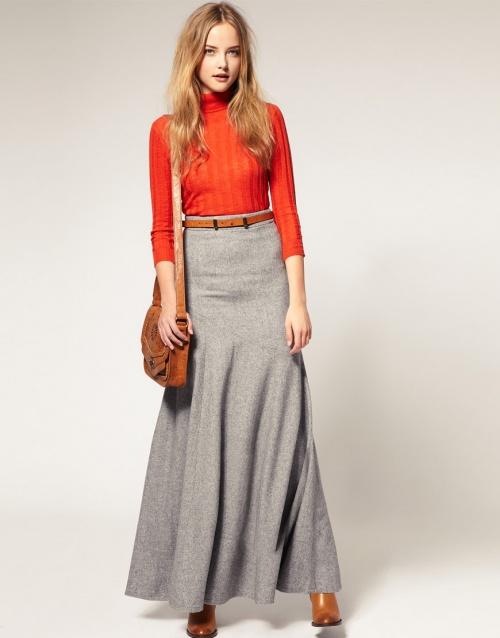 jupe longue mode
