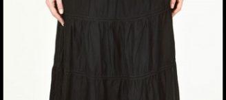 Jupe longue noire zara