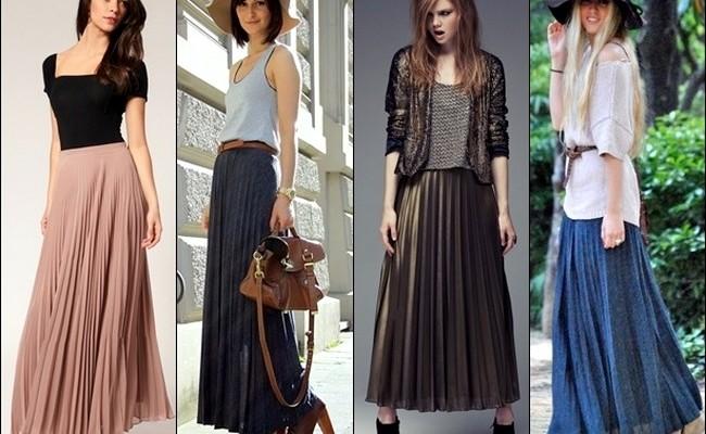 jupe longue tendance