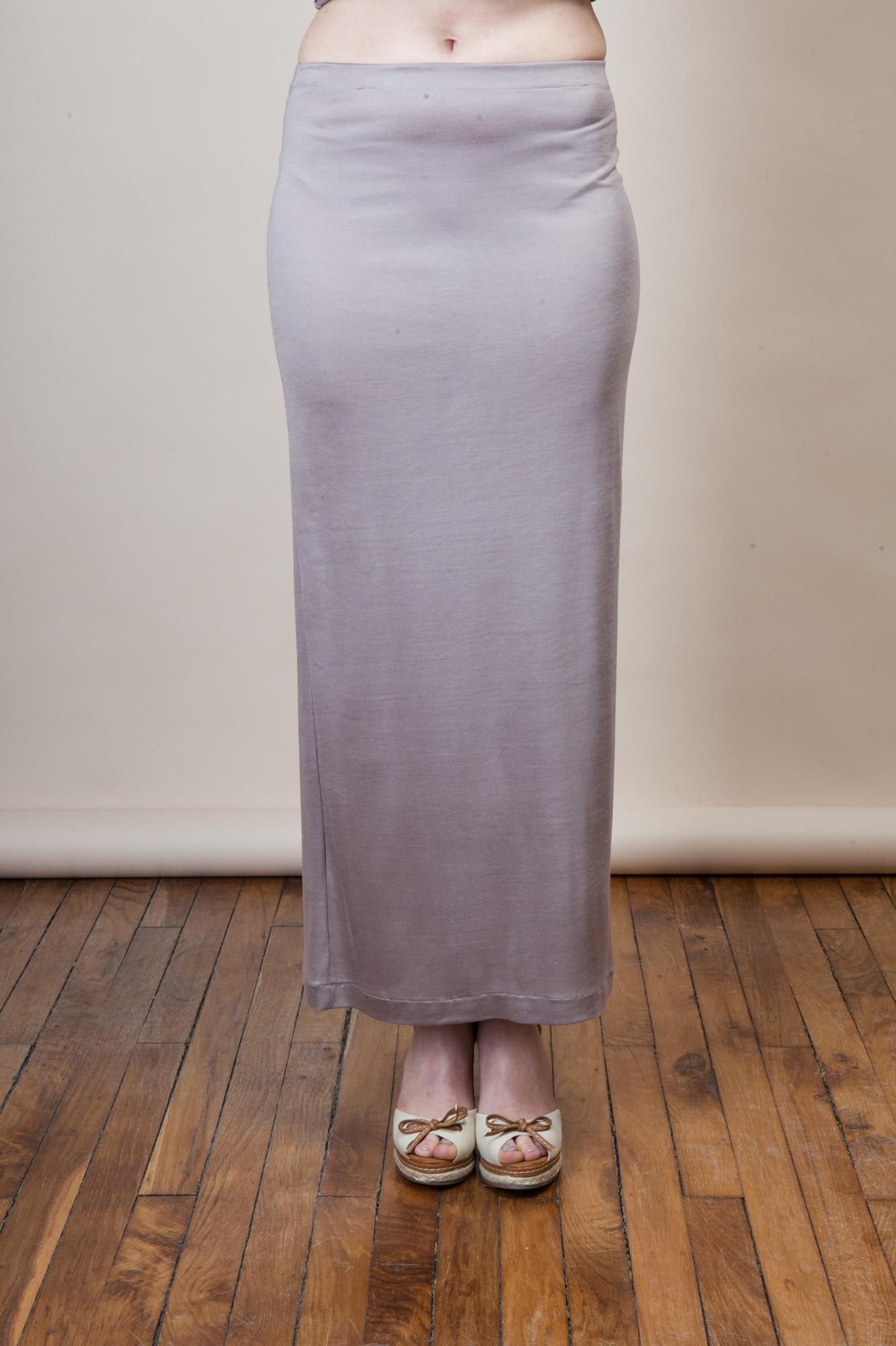 jupe longue tube