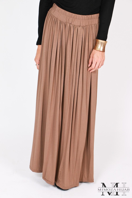 jupe longue viscose
