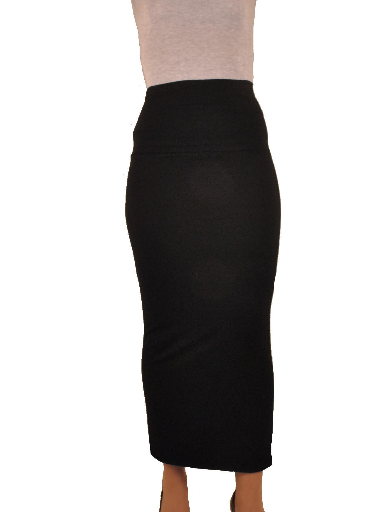 jupe tube longue