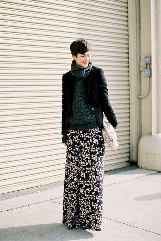 jupes longues hiver