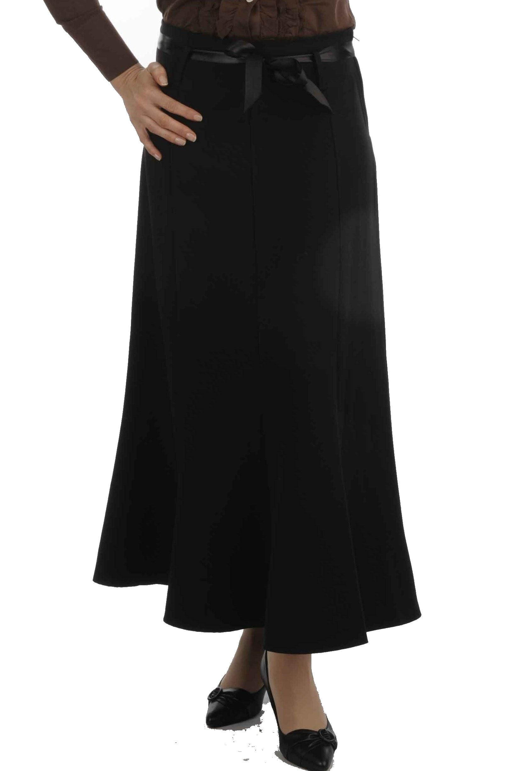 longue jupe noir
