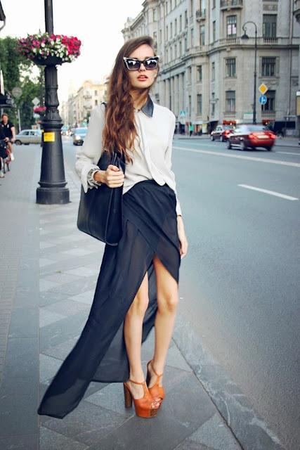 look jupe longue