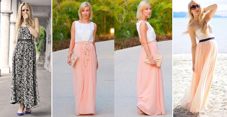 robe et jupe longue